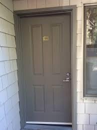 exterior door paint color for condos