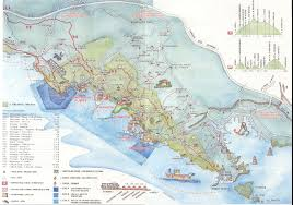 Map Of Cinque Terre Italy by The Campsite
