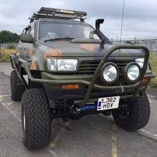 lexus ls400 modified toyota hilux surf monster truck 4x4 modified offroad v8 bargain 12