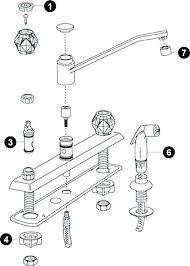 kohler kitchen faucet parts diagram kitchen faucet o ring pizzle me