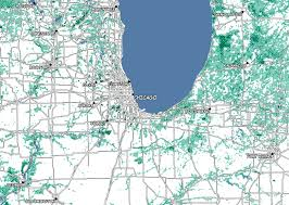 City Of Chicago Map by Chicago As Pop Artist Roy Lichtenstein Might Have Mapped It