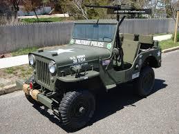 jeep vietnam willys 1960 cj3b army m606 style vietnam military type highhood jeep