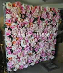 wedding backdrop flower wall spr hot mix color penoy flower wall wedding backdrop