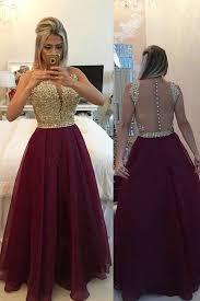 v neck evening dresses
