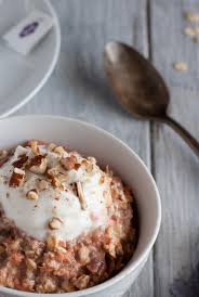 carrot cake overnight oats feasting not fasting