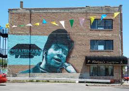 quirky berkeley black panther murals california and madison chicago