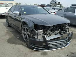 damaged audi for sale damaged 2013 audi s8 quattro for sale in ca rancho cucamonga