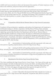 Us Department Of The Interior Bureau Of Land Management Federal Register Final Report Review Of The Department Of The
