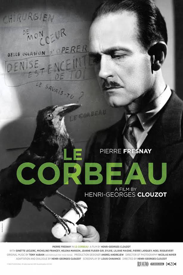 Image result for le corbeau 1943