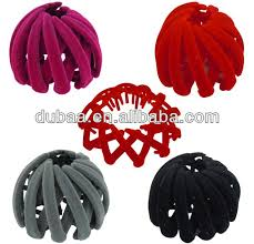 hair holders china magic plastic clip hair holders hair styling donut bun