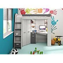 lit mezzanine avec bureau enfant amazon fr lit mezzanine