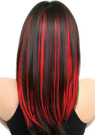 chunking highlights dark hair pictures tezybewu red highlights dark hair and highlights underneath