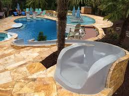 residential pool water slides pools pinterest pool water