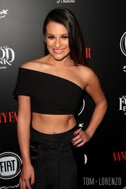 Young Vanity Lea Michele At The Vanity Fair And Fiat Young Hollywood