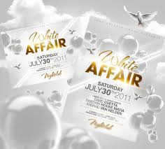 invitation flyer templates free all white party flyer template free professional samples templates