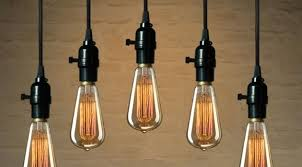 Light Bulbs For Pendant Lights Exposed Light Bulb Pendant Pendant Lighting Ideas