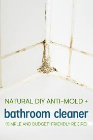 how to make natural bathroom cleaner natural diy anti mold spray and bathroom cleaner recipe