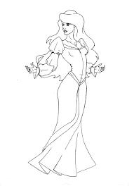 odette swan princess coloring free download