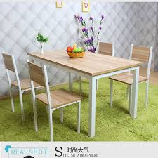 Table Six Restaurant Wood Table Cafe Restaurant Snack Shop Table Rectangular Table Four