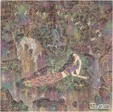 femme de chambre x toiles de chinois moderne artiste la beauté et le cheval femme