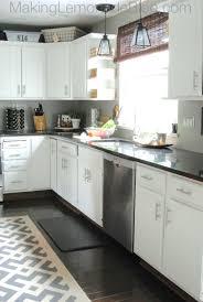 Remodeling Kitchen Cabinets On A Budget Budget Friendly Modern White Kitchen Renovation Hometalk