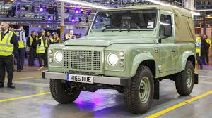 vintage land rover defender the land rover defender is dead