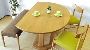half moon dining table half moon dining table half moon solid hardwood table half moon