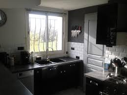 cuisine moderne et noir cuisine moderne pays idees de decoration