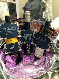 Making Gift Baskets Creative Ideas For Wine Baskets Retirement Gift Basket Ideas For