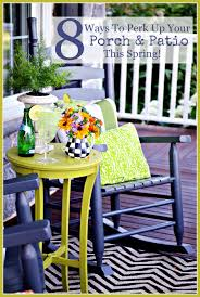 Patio Spring Chair by 8 Ways To Perk Up Your Porch And Patio This Spring Stonegable