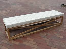 Long Bench Cushions Outdoor Bench Wonderful Long Entryway Delicate Picture On Astounding Extra