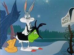 broom stick bunny bugs bunny supercartoons