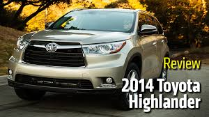 Toyota Highlander Interior Dimensions Review 2014 Toyota Highlander Rideapart
