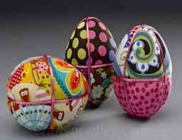 styrofoam easter eggs easter eggstravaganza fresh fancy fabric foam eggs crafts