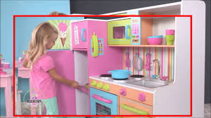 pretend kitchen furniture girls fun wooden play kitchen toys kitchen unit playtime cooking