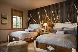 chambre deco bois chambre decoration bois visuel 1
