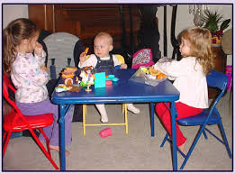 Folding Table Chair Set Childrens Folding Table And Folding Chairs For Kids