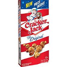 personalized cracker jacks cracker original caramel coated popcorn peanuts