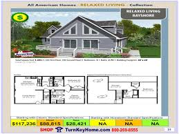 bayshore all american modular home relaxed living collection plan