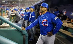 cubs bench coach dave martinez to interview for nationals job