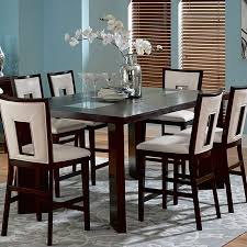 Espresso Dining Room Set by Steve Silver Company Delano Counter Height Dining Table In
