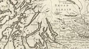 Stirling Scotland Map Scottish Maps 1858 1928 Arrochar Tarbet And Ardlui Heritage