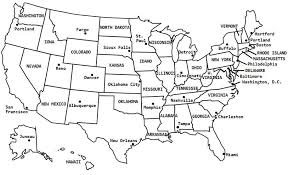 us map states quiz 50 state fill in map forblank outline maps printables maps