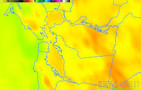 Oakland Ca Map Goes 16 Views A Fire In Oakland California Cimss Satellite Blog