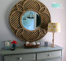 My Foyer Decorating My Entry Way New Pottery Barn Mirror The Turquoise Home