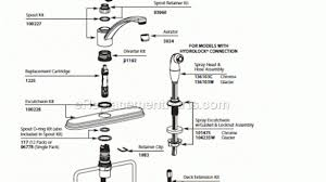 moen kitchen faucet parts entranching leaky moen kitchen faucet repair in parts diagram