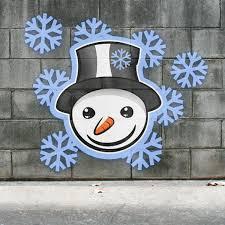 Mondspeer Deviantart - graffiti smiley snowmann on the wall by mondspeer on deviantart