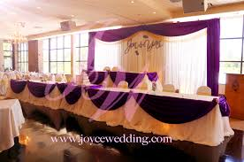 Wedding Backdrop Gold Purple And Gold Decoration For Wedding Dinner Reception