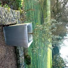 plaque ardoise jardin le zinc au jardin