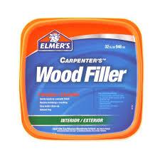 shop wood filler at lowes com elmer s carpenter s 32 oz natural wood filler